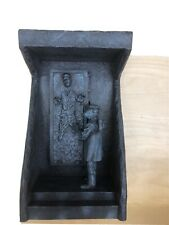 Applause Star Wars Classics Han Solo in Carbonite Leia lighted Statue Coa #524