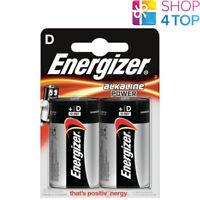 2 ENERGIZER D ALKALINE POWER LR20 BATTERIEN 1.5V MONO R20 MN1300 AM1 E95 NEU