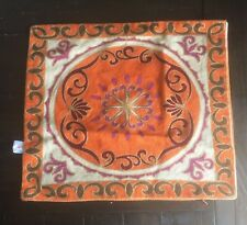 Handmade Oriental Asian style Square Throw Pillow Case 15 x 15 inch