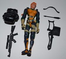 "GI Joe AGENT SCARLETT (v1) Complete Series 18 2002 vs Cobra 3.75"" Figure ARAH"