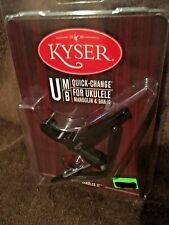Kyser Quick Change Capo for Uke/Mandolin/Banjo/New In Package/Free Shipping!!