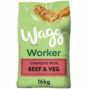 Wagg Worker Beef & Veg Adult Dog Food 16kg