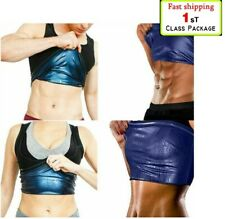 Women's Men's Slimming Sports Vest Tank Weight Loss Sweat Shapewear Sauna Shaper