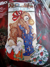 Holiday Bucilla Needlepoint Stocking Craft Kit,CHRISTMAS MORNING,60736,Size 18""