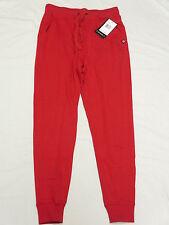 NWT NEW Mens Akademiks Flatland Jogger Pants Sweatpants Red Urban Size L M533