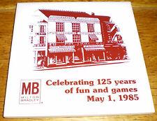 Milton Bradley 125th Anniversary Tea Tile w/ presentation box (1985)