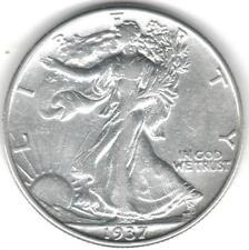 1937 50C Walking Liberty Half Dollar EF/AU TMM*
