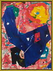 Framed Sam Francis Untitled Giclee Canvas Print Paintings Poster Reproduction