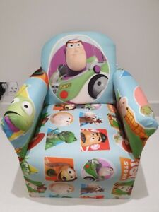 Children's Toy Story Buzz Character Good Quality Kids Arm Chair Seat Brand New