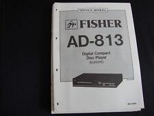 Original Service Manual Fisher AD-813
