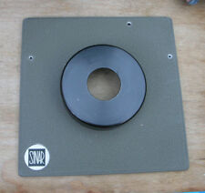 genuine Sinar Norma & F  P fit  lens board panel compur 00 26.5mm hole 18mm step