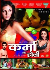 KARMA AUR HOLI (Every one has a secret)  BRAND NEW BOLLYWOOD DVD - FREE UK POST