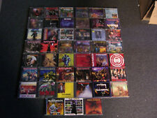 Lot of 45 Iron Maiden cd's Rare out of print titles!!!