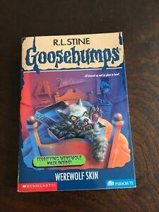 Goosebumps #60 Werewolf Skin  R.L. Stine