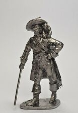 Lead toy soldier,Captain Barbossa,rare,collectable,gift,,decoration,handmade