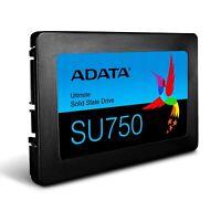 """ADATA 512GB SSD SU750 500GB 2.5"""" SATA III 3D NAND TLC Internal Solid State Drive"""