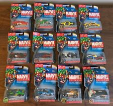 Lot of 12 NEW Maisto Marvel Universe DieCast Car Collection IRON MAN PUNISHER ++