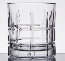 4 NEW Anchor Hocking Manchester (Tartan)Rocks Drinking Glass Tumblers 10.5 oz