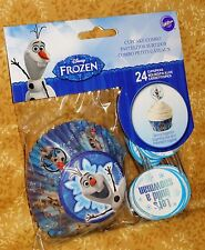 Frozen,Disney Cupcake Papers/Picks,Combo Pack,Wilton,Blue,Bake Cups,415-8504