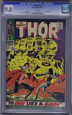 Thor #139 Marvel 1967 CGC 9.0 ( VF/NM ) WHITE PAGES,appearance by Ulik