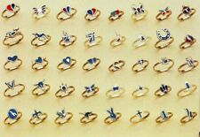 100 TURQUOISE PINKY RING womens novelty jewelry NEW BULK womens rings wholesale