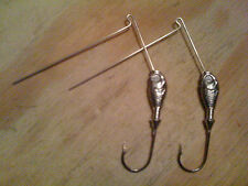 """10 Raw 1/4oz Minnow Spinnerbait Heads Tackle Making """"Fast Free Shipping"""""""