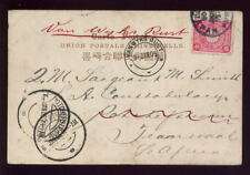 JAPAN 1905 PICTURE POSTCARD to S.AFRICA...VANWYKS RUST