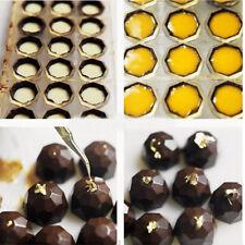 21 Cavité Polycarbonate Demi-Boule Moule Chocolat Gâteau Bonbon Biscuit Plateau