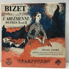 Bizet L'Arlesienne Suites 1 And 2 LGX 66021 Lp Record Ex