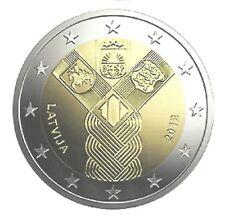 LETLAND I 2018 - 2 euromunt - 100 jaar Onafhankelijk/100 ans Indépendance - UNC