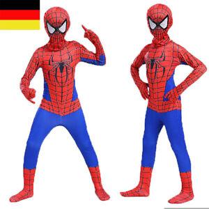 Karneval Spiderman Kostüm Kinder Cosplay Avengers Anzug Marvel Outifit Overall