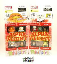 Marvel Minimates Alpha Flight # 1 and # 2 Box Set Collection