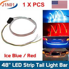 "48"" LED Rear Brake Signal Reverse Parking Truck Tailgate Light Strip Bar Running"