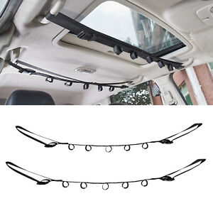 1Pair Portable Fishing Rod Holder for Car Universal Fishing Pole Carrier