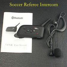 Football Soccer Referee Talking 1200M Bluetooth Intercom for 4 Users Full Duplex
