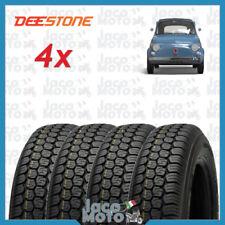 Set 4 Copertoni Gomme Pneumatici FIAT 500 EPOCA DEESTONE 125-12 R  8PR 81J D823