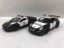 Lamborghini & Porsche Police Car 1:36 KT5317-5352.DP