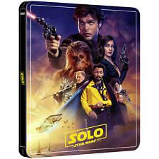 SOLO A STAR WARS STORY 4K + BD + BONUS DISC STEELBOOK ZAVVI EXCLUSIVE [UK]