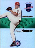 2008 TRISTAR PROjections Reflectives Green #298 Tommy Hunter /50 - NM-MT