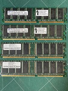 2 - 1GB DIMM and 2 - 256 DIMM Apple Power Mac G5 Memory Ram Memory
