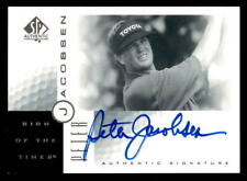 2001 SP Authentic Sign of the Times #PJ Peter Jacobsen Auto (ref 17265)
