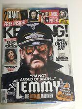 KERRANG! #1582 AUG 2015: LEMMY Motorhead IRON MAIDEN Ghost BLACK VEIL BRIDES
