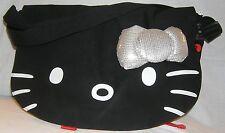 Hello Kitty MESSENGER BAG PURSE 3D Bow NICE GIFT FREE USA SHIPPING NWT