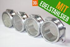 4 x Weber DCOE IDF / Dellorto Solex Vergaser Ansaugtrichter Trompete 25mm + Sieb