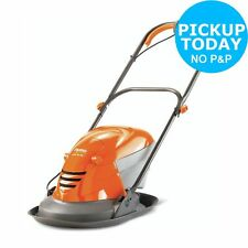 Flymo Hover Vac 250 25cm Corded Electric Grass Collect Lawnmower - 1400W.