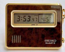 Rare Seiko Quartz mit Lcd Display,2 Zeitzonen, 2 Displays ,Alarm und Licht .