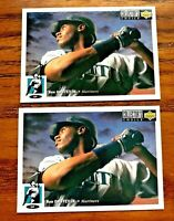 1994 Collector's Choice #117 Ken Griffey JR - Mariners (2)
