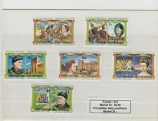 Tuvalu Nui Satz 6x Briefmarken stamps Sondermarken Michel Satz 09-20