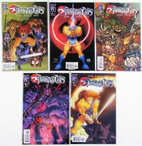 ThunderCats: Dogs of War #1-5 Complete Mini-Series Set DC Wildstorm 2003 UNREAD