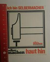 Aufkleber/Sticker: selber machen Heimwerkzeitschrift (240716128)